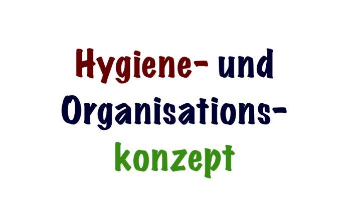 Hygieneplan ab 9.11.2020