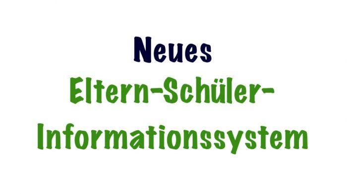 ESIS – Neues Eltern-Schüler-Infosystem